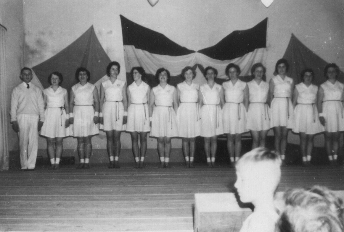 Gymnastiekuitvoering SVZ 1962