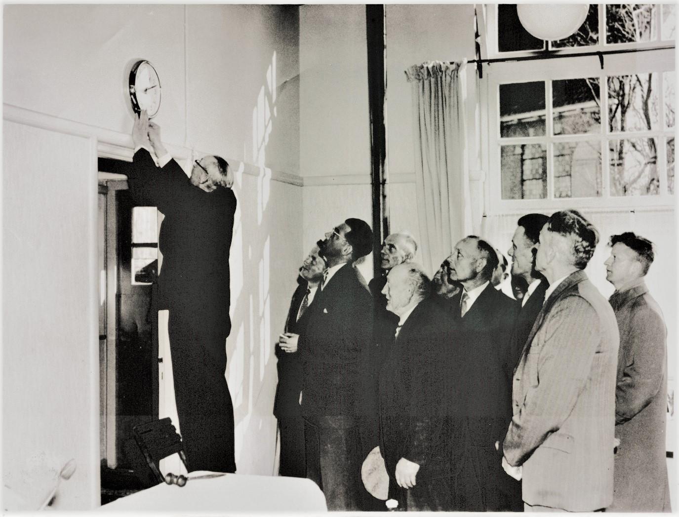 Opening Kern als dorpshuis 1959 door dr. Mooi